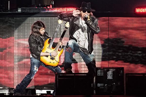Gun N' Roses Bring Hard-Rock Theatrics to Governors Ball
