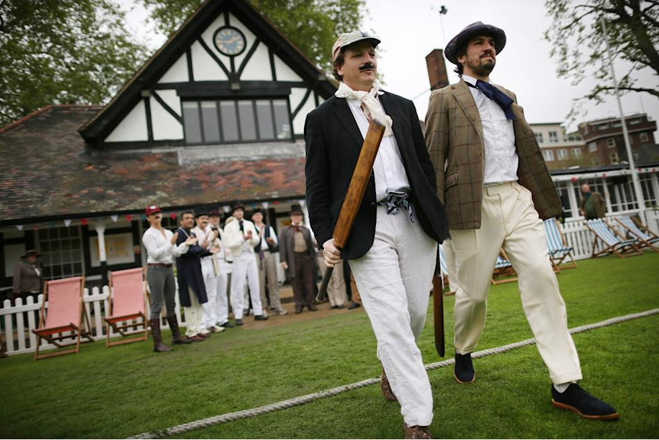 Victorian Cricket Match Celebrates The 150th Anniversary Of Wisden's Almanack