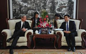 So What's Tim Cook Doing in China This Time Around?