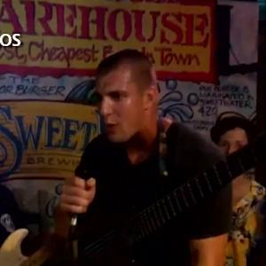 New England Patriots tight end Rob Gronkowski freestyles