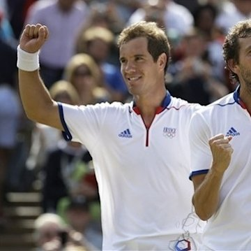 French team wins bronze in Olympic men's doubles The Associated Press Getty Images Getty Images Getty Images
