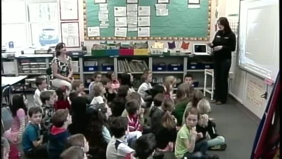 York students learn about weather