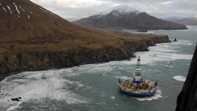 Salvagers tight-lipped on Shell vessel recovery