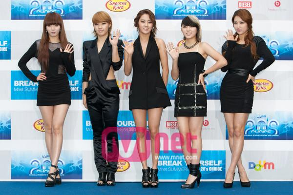 2010 Mnet 20's Choice 4minute