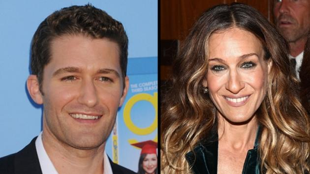 Matthew Morrison, Sarah Jessica Parker -- Getty Images