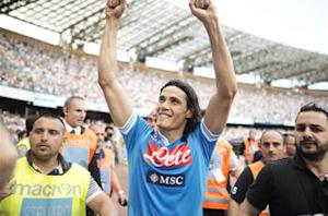 De Laurentiis: Man City can't meet Cavani's buyout clause