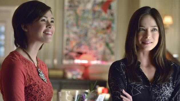 Nicole Gale Anderson as Heather and Kristin Kreuk as Catherine in the 'Tough Love' episode of'Beauty and The Beast' -- The CW