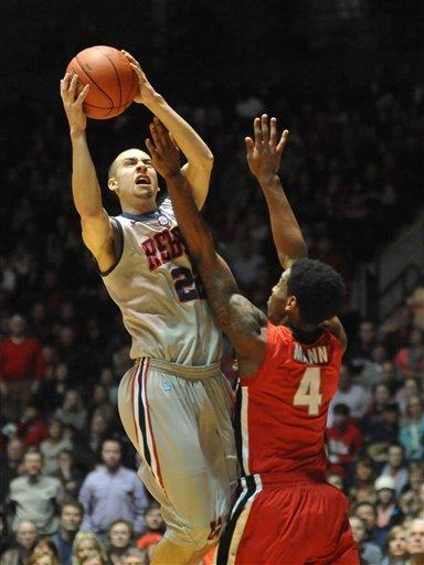 Mississippi beats Georgia 84-74 in overtime