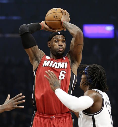 Heat blow out Nets in 2nd half, win 105-85