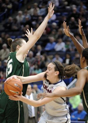 Top-ranked UConn women top South Florida 81-53