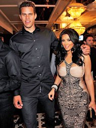 Kris Humphries and Kim Kardashian in happier days.