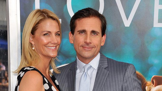 Crazy Stupid Love 2011 NY Premiere Steve Carell Nancy Carell