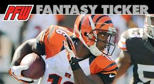 Bengals' Hawkins has definite fantasy value