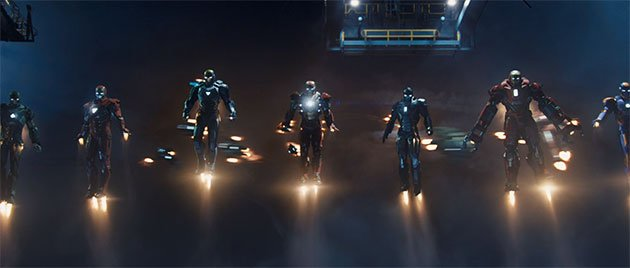 Exclusive 'Iron Man 3′ trailer shows Tony Stark's biggest, baddest tech yet