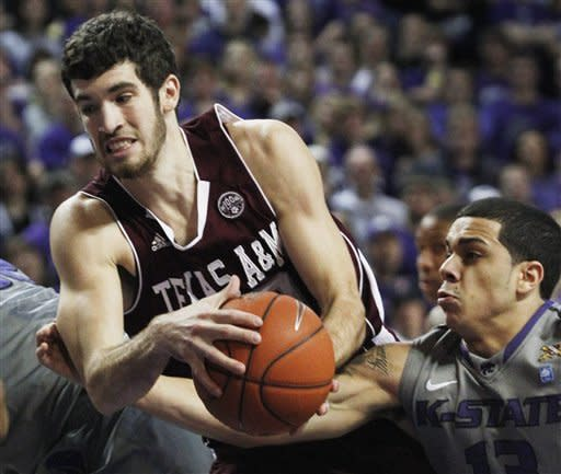 Kansas State rolls past Texas A&M 64-53