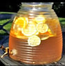 Beehive 2 Gallon Glass Drink Dispenser