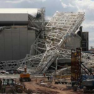 World Cup stadium collapse another bad mark for Brazil
