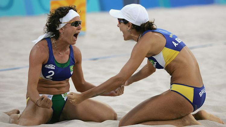 Womens Beach Volleyball Semis