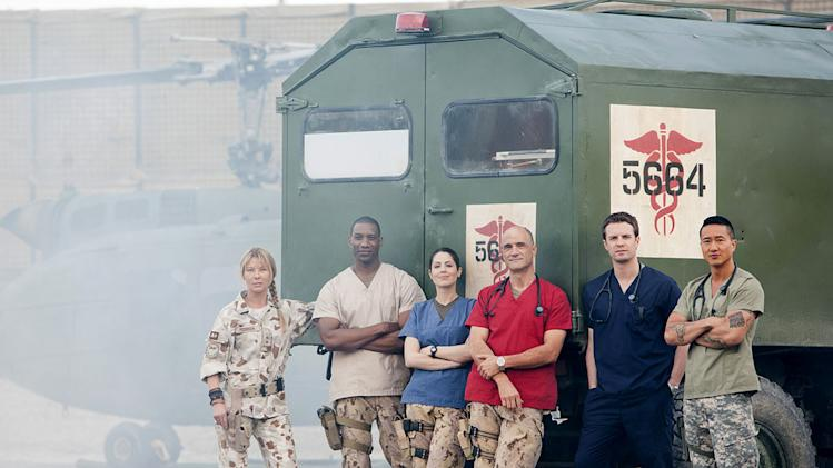 "The cast of ""Combat Hospital."""