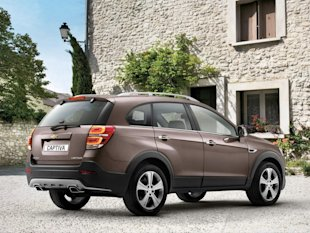 All New Chevy Captiva 2013