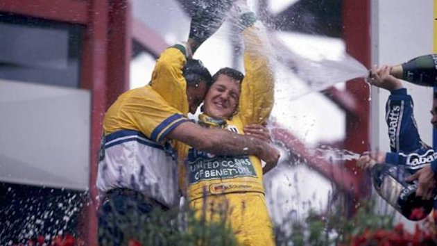 FORMULA 1 1992 Schumacher Spa