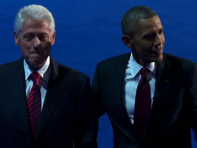 Clinton Boosts Obama at Convention