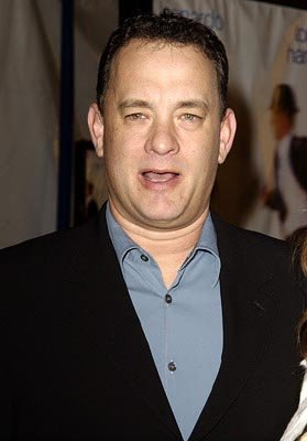 Tom Hanks at the Hollywood premiere of Dreamworks' Catch Me If You Can