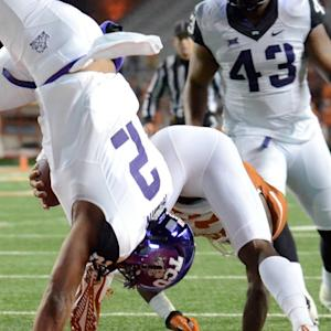 TCU's Trevone Boykin Flips In A Leap Second