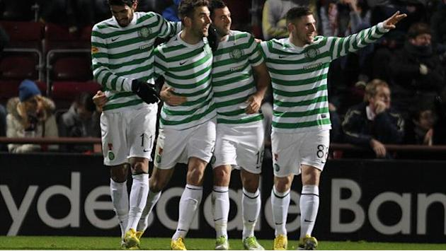 Scottish Football - Celtic toast Magners shirt deal