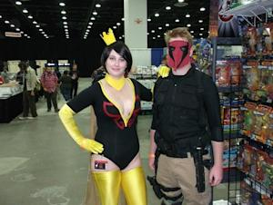 Two fans at 2011 Detroit Fanfare. (Photo courtesy of L. Vincent Poupard.)
