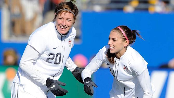 Abby Wambach's advice to Alex Morgan