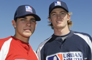Ryan Garvey and Trevor Gretzky