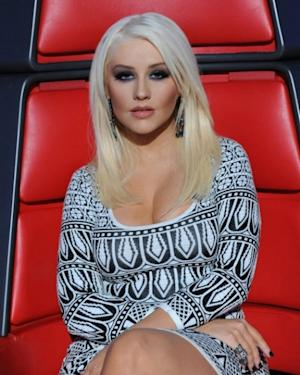 Christina Aguilera on NBC's 'The Voice' -- NBC