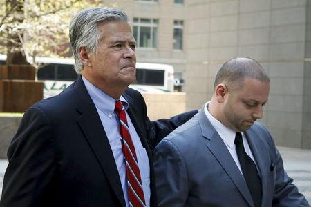 New York Senate leader Skelos, son charged with corruption