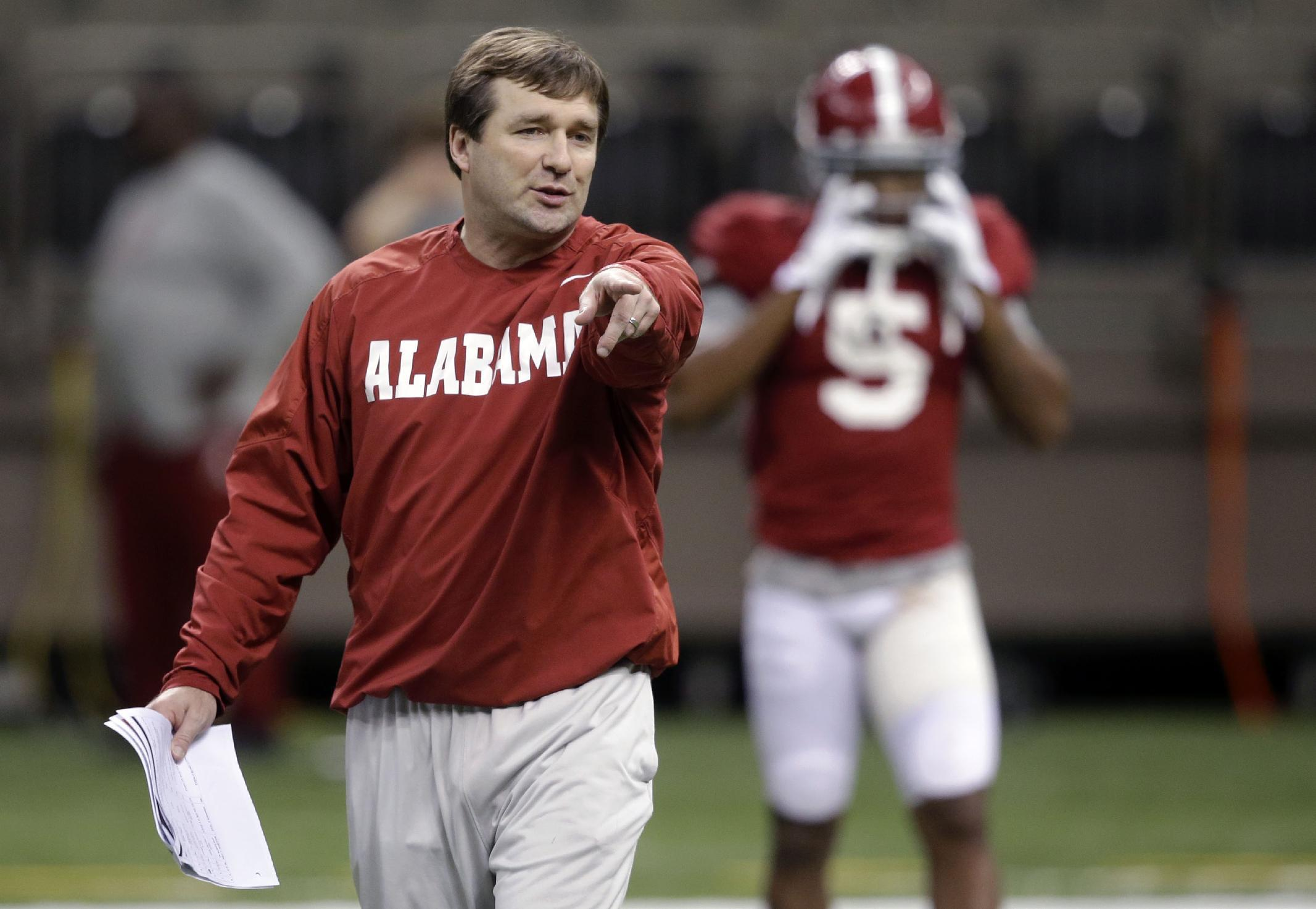 Report: Georgia to name Alabama DC Kirby Smart its next head coach