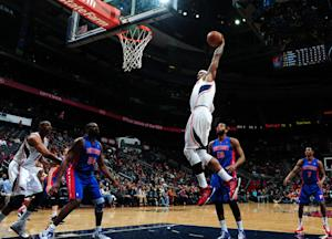 Hawks edge Pistons in 2 OTs
