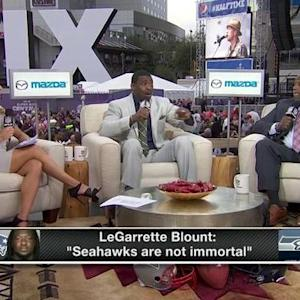 Will New England Patriots running back LeGarrette Blount's comments fuel the Seattle Seahawks?