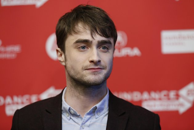 Daniel Radcliffe at the premiere of Kill Your Darlings during the 2013 Sundance Film Festival (Danny Moloshok/Invision/AP)