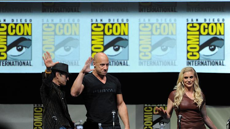 """Kick-Ass 2"" And ""Riddick"" Panels - Comic-Con International 2013"