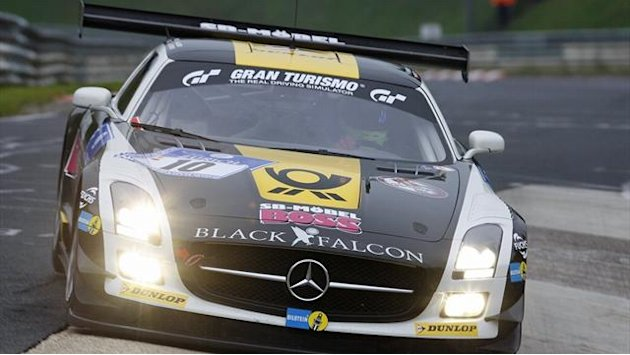 Motorsport - Mercedes gewinnt 24 Stunden auf dem Nrburgring