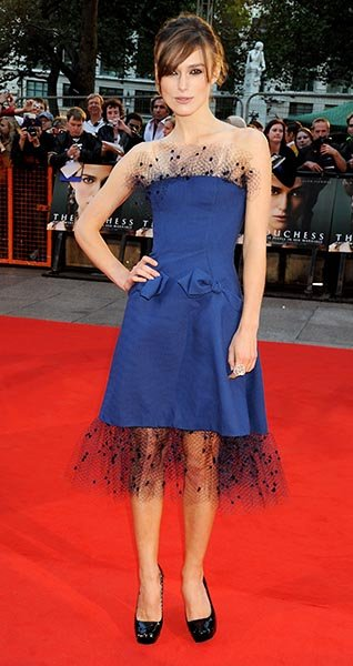 "At the UK Premiere of ""The Duchess"" in 2008"