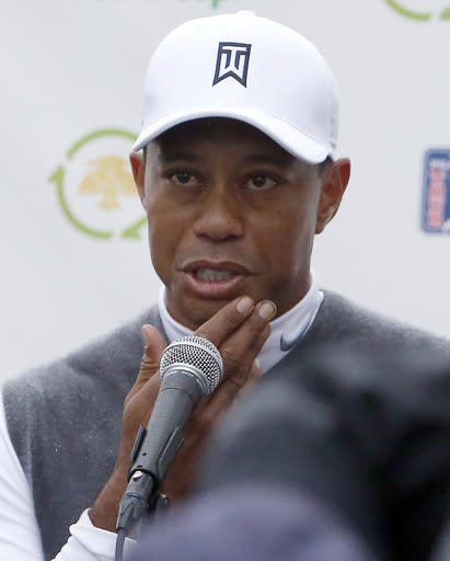 Woods posts 82, highest score of his pro career