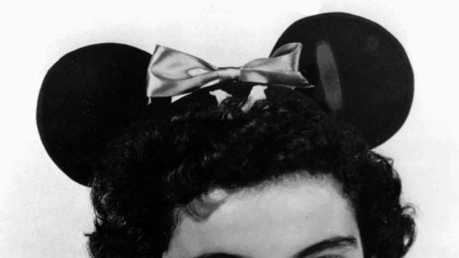 "FILE - This 1955 file photo provided by Walt Disney Co., shows Annette Funicello, a ""Mouseketeer"" on Walt Disney's TV series the ""Mickey Mouse Club."" Walt Disney Co. says, Monday, April 8, 2013, that Funicello, also known for her beach movies with Frankie Avalon, has died at age 70. (AP Photo/Walt Disney Co., File)"