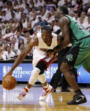 Heat overcome Rondo, top Boston 115-111 in Game 2