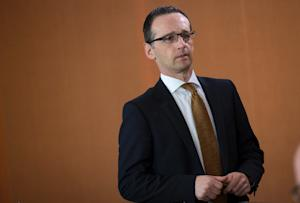 German Justice Minister Heiko Maas said Facebook was …