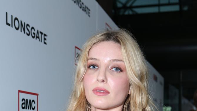 Annabelle Wallis at the AMC Season 6 Premiere of Mad Men , on Wednesday, March, 20, 2013 in Los Angeles. (Photo by Alexandra Wyman/Invision for AMC/AP Images)