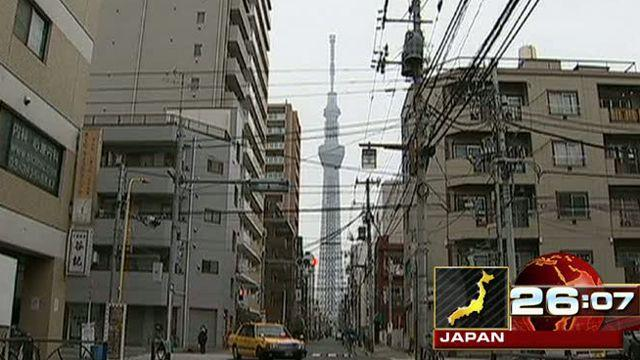 Around the World: World's tallest tower now open in Japan