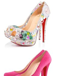 As of today we can now buy Spring/Summer 2012 Louboutin heels online, direct from the designer's boutique!