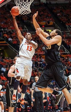 Illinois blows out Purdue 79-59