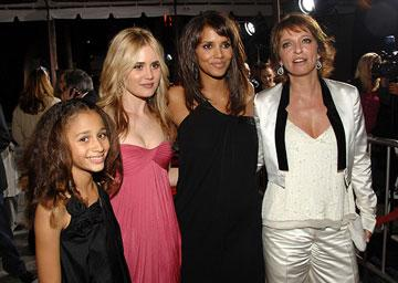 Alexis Llewellyn , Alison Lohman , Halle Berry and director Suzanne Bier at the Los Angeles premiere of DreamWorks Pictures' Things We Lost in the Fire